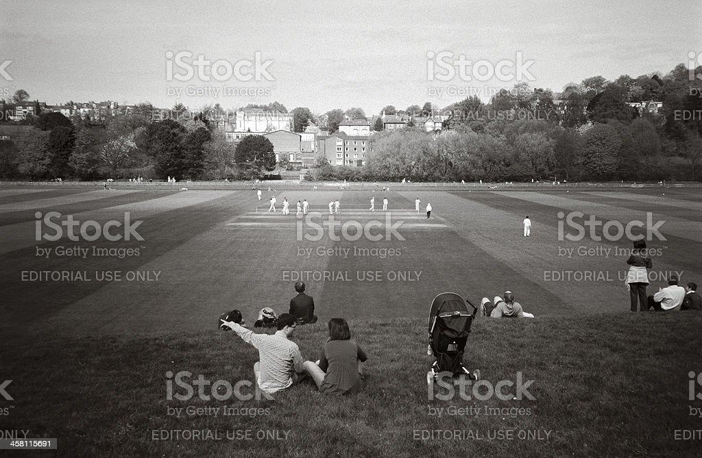 Cricket day royalty-free stock photo