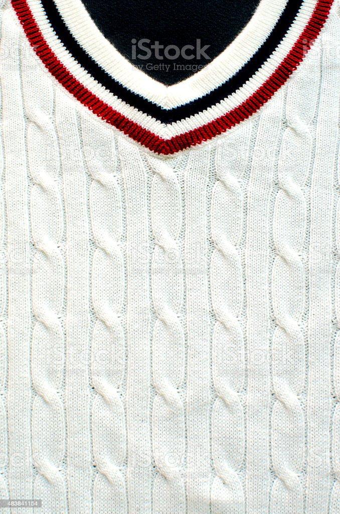 Cricket jumper stock photo