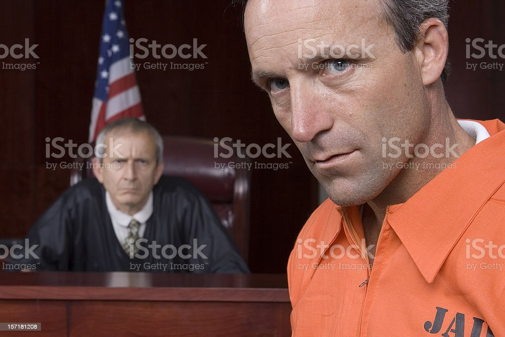 Crime Does NOT Pay stock photo
