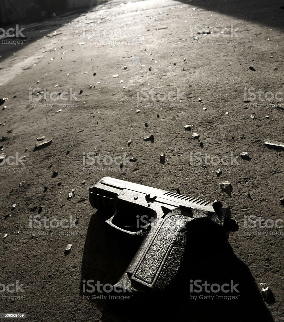 crime evidence stock photo