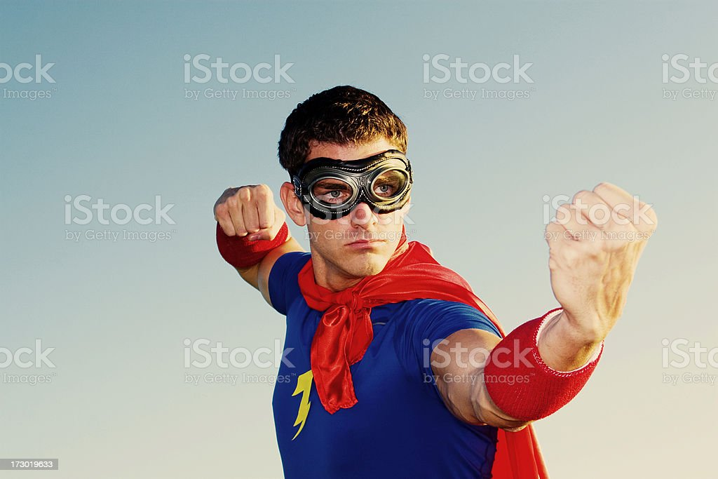 Crime Fighter royalty-free stock photo