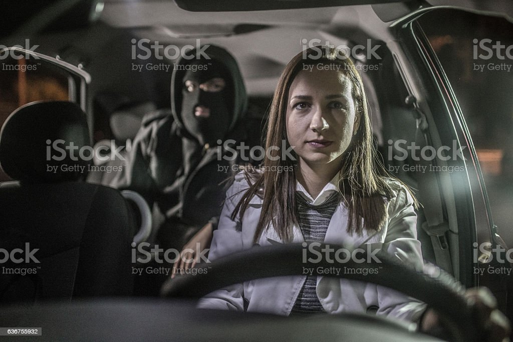 Crime is about to happen stock photo