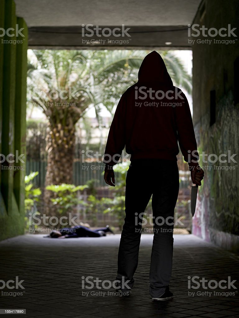 Crime royalty-free stock photo