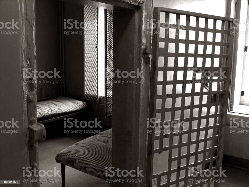 Crime punishment royalty-free stock photo