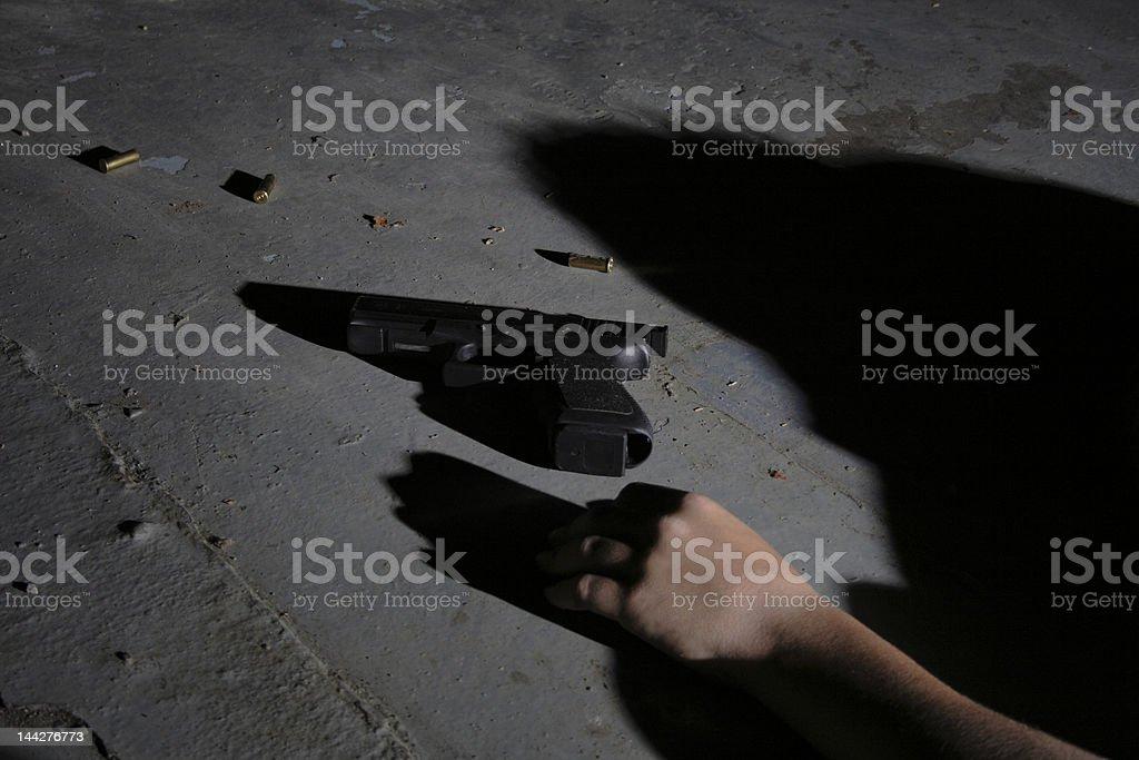 Crime scene 1 stock photo