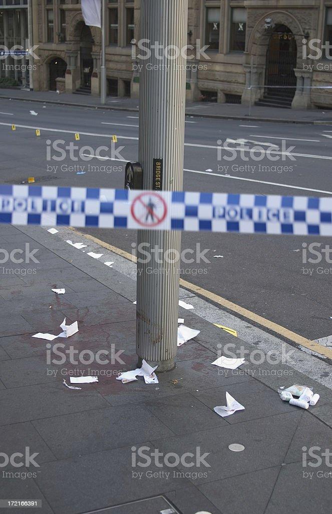 Crime Scene 2 royalty-free stock photo