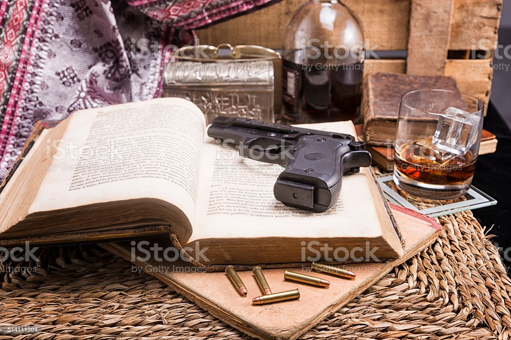 Crime Story Concept stock photo