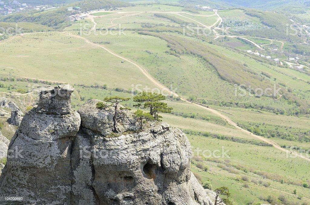 Crimea landscape royalty-free stock photo