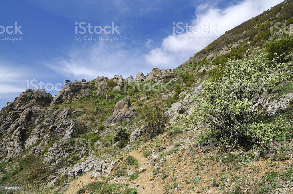 Crimea landscapes royalty-free stock photo