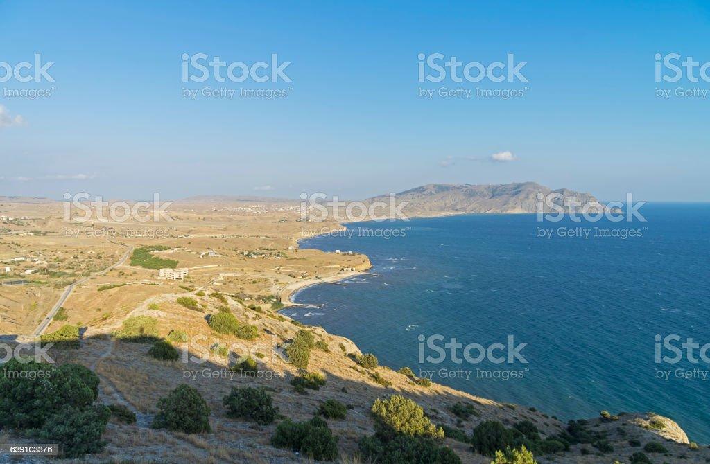 Crimean coast. September. stock photo