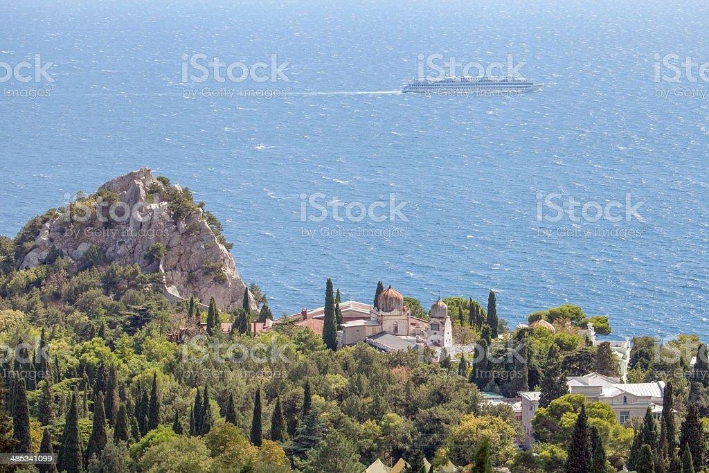 Crimean landscape. stock photo