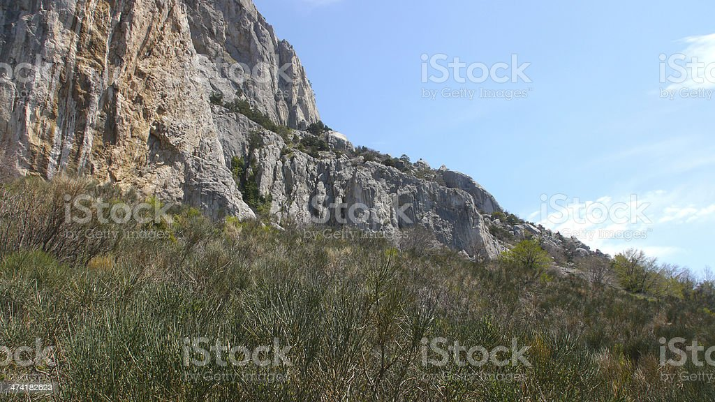 Crimean rock royalty-free stock photo