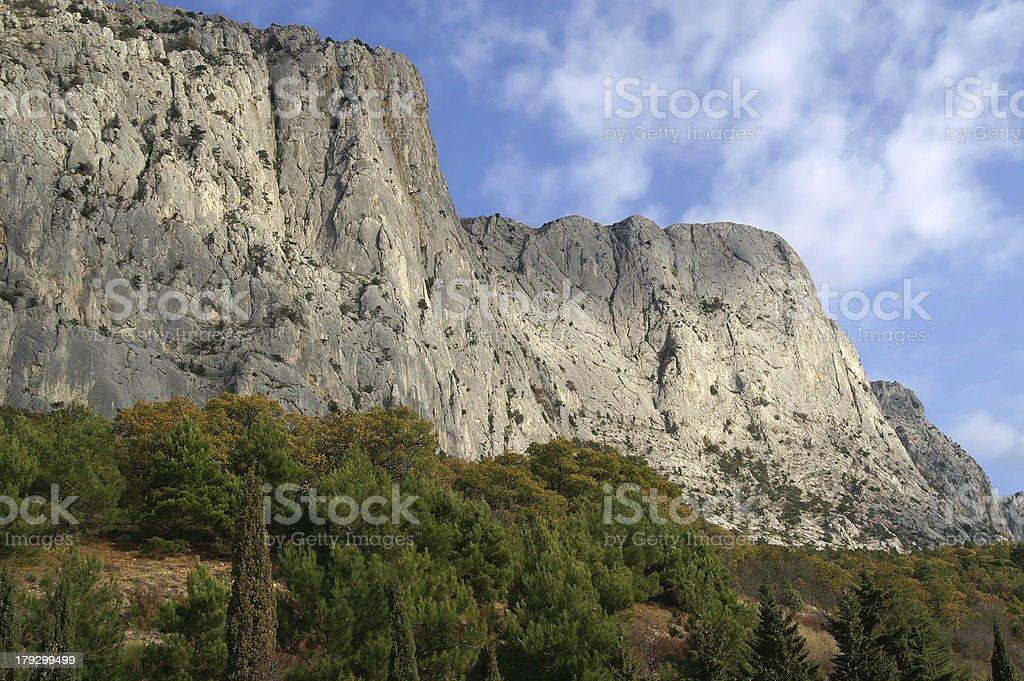 Crimean rocks royalty-free stock photo