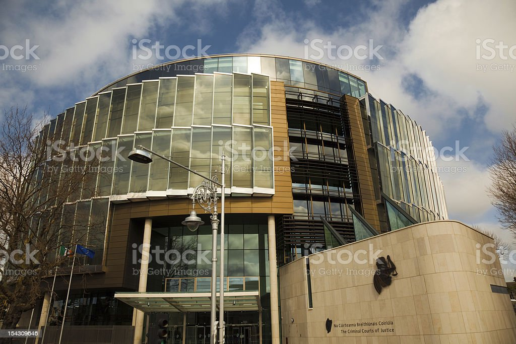 Criminal Court of Justice, Dublin royalty-free stock photo