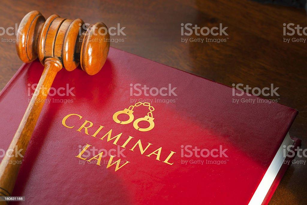 Criminal Law stock photo