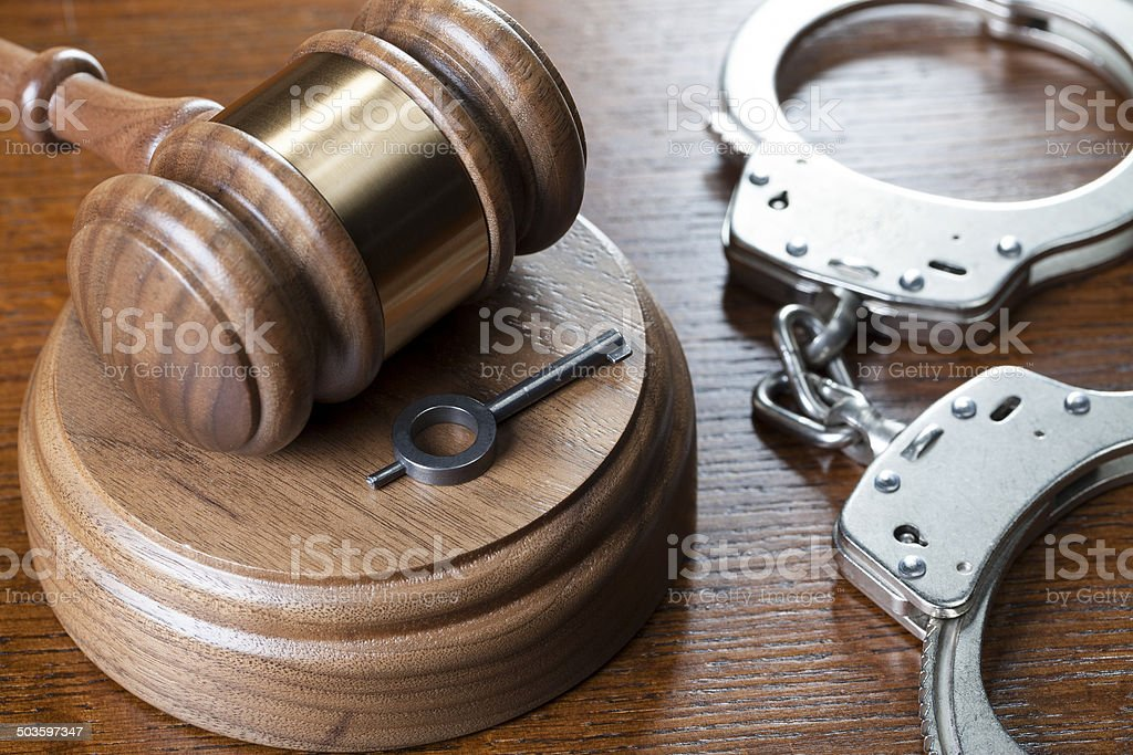 Criminal Law stock photo