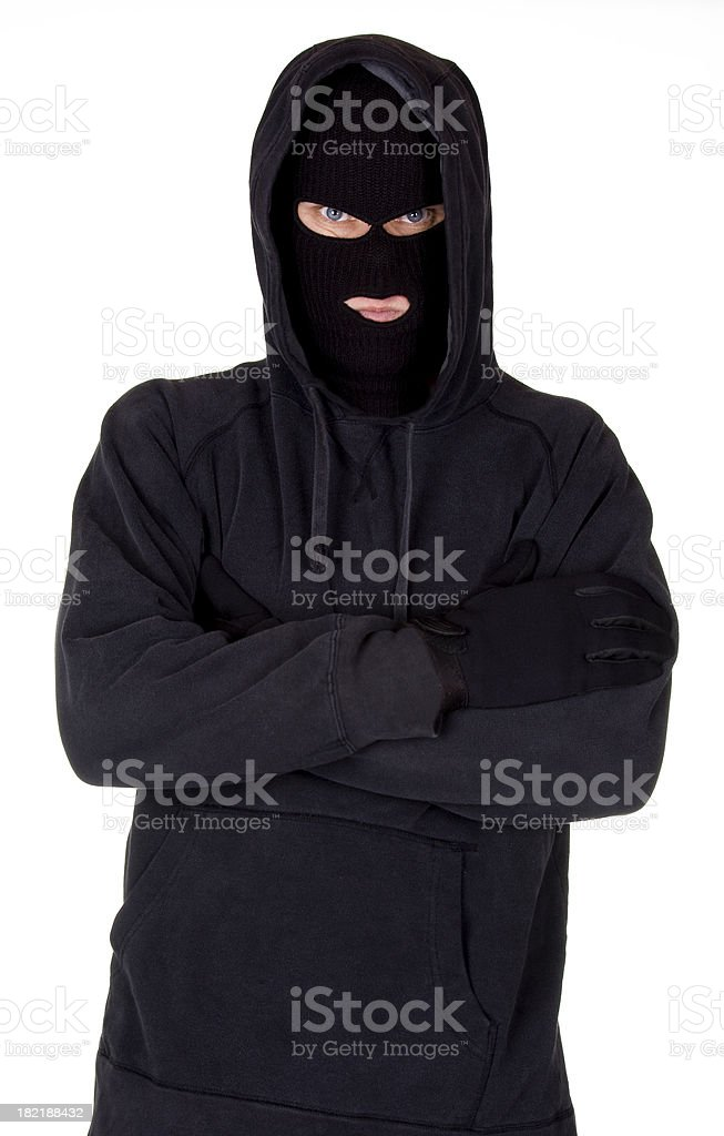 Criminal Mind royalty-free stock photo