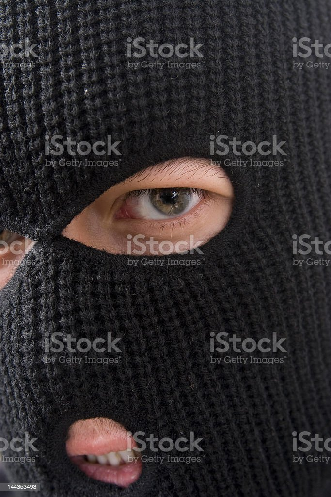 criminal royalty-free stock photo