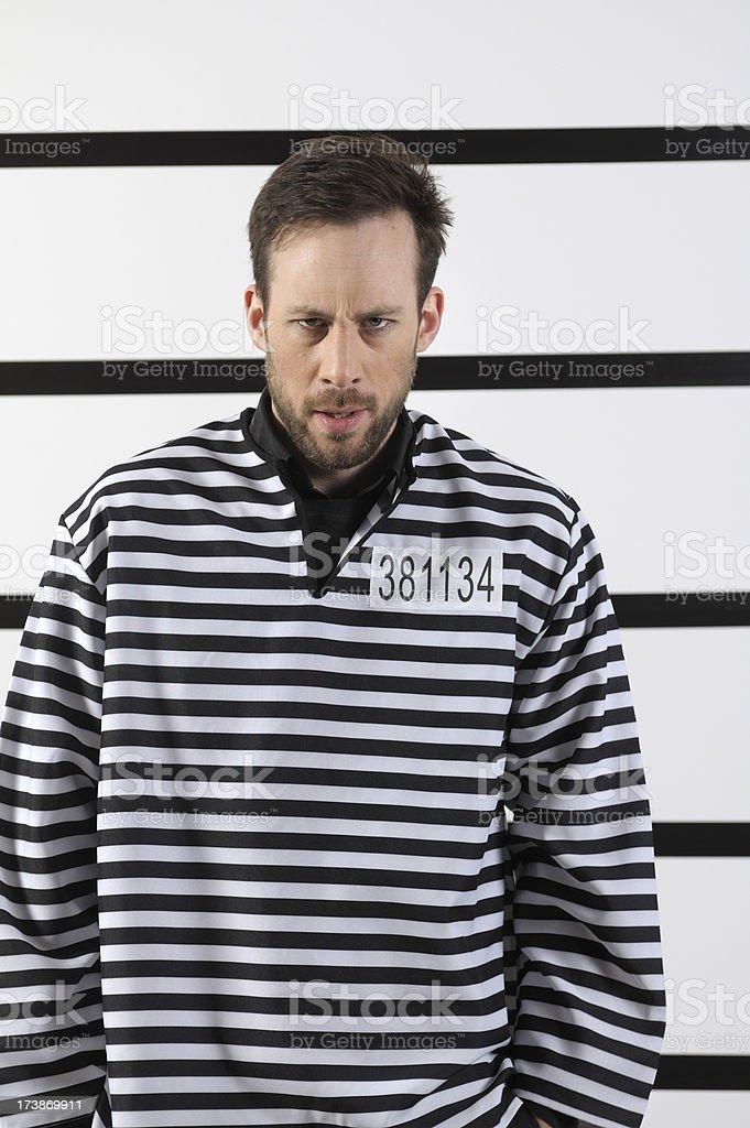 Criminal royalty-free stock photo
