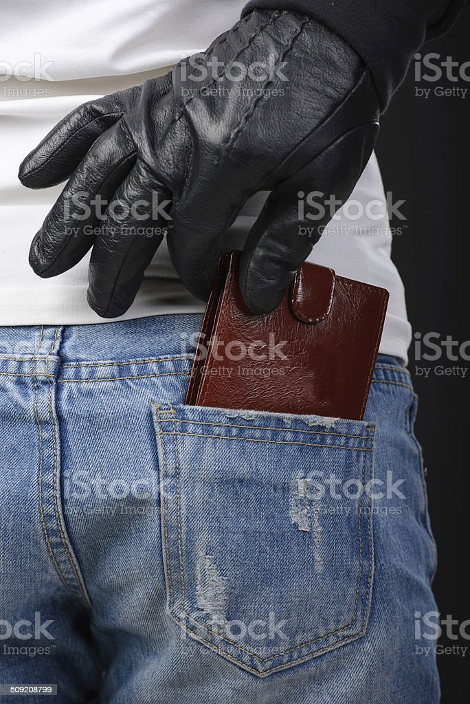 Criminality stock photo