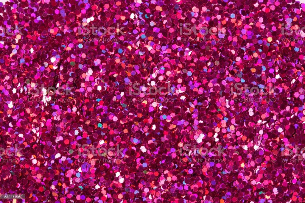 Crimson glitter shiny background stock photo