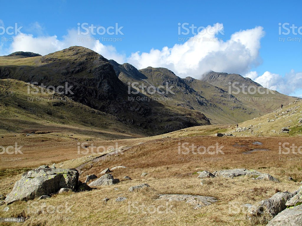 Crinkle Crags stock photo