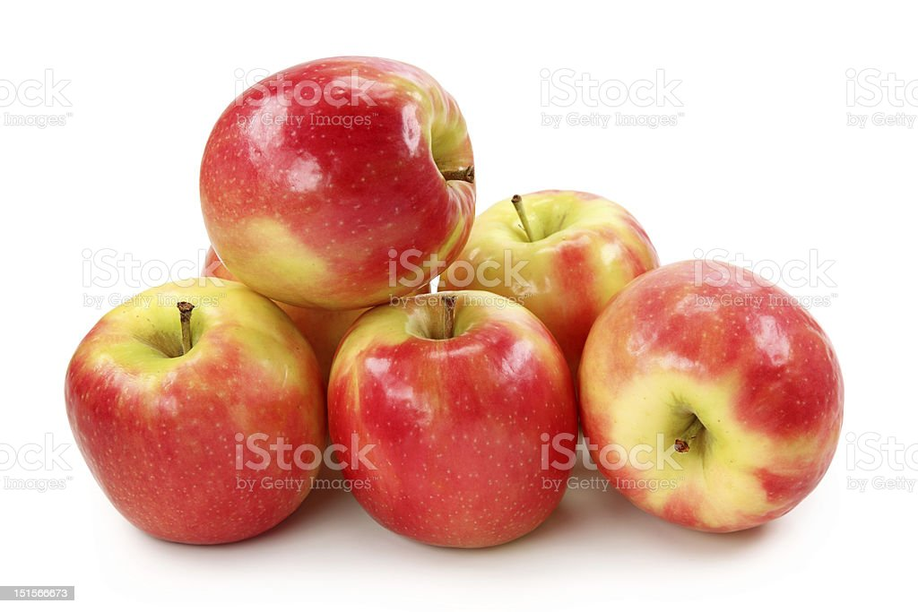 Cripps Pink Apple stock photo