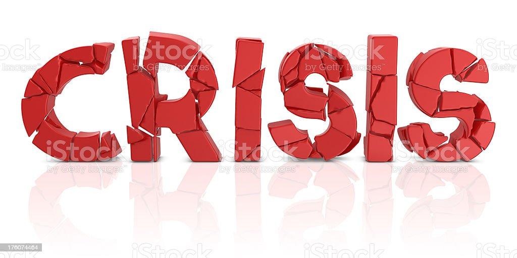 crisis fall down royalty-free stock photo