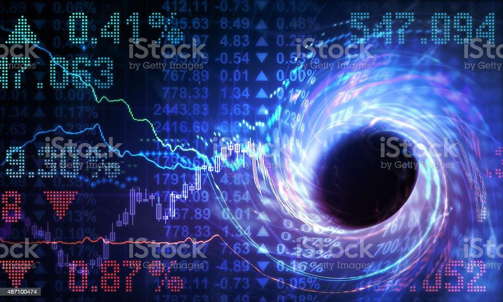 Crisis stock photo