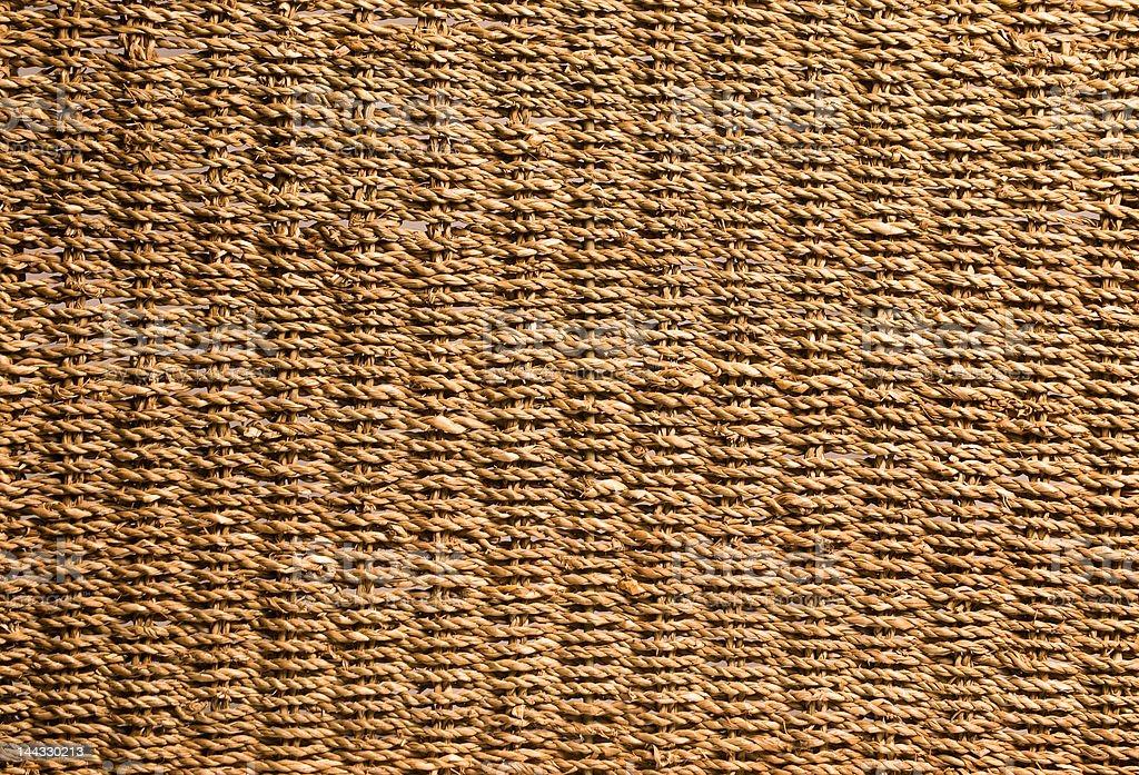Crisp woven texture detail royalty-free stock photo