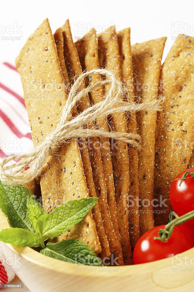 kn?ckebrot sticks royalty-free stock photo