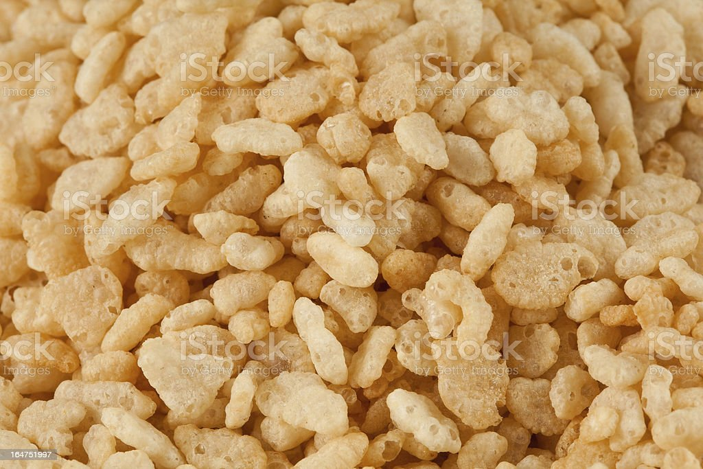 Crisped Rice Cereal stock photo