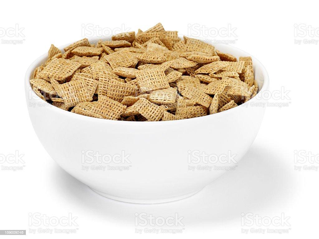 Crispy Bran Breakfast Cereal stock photo