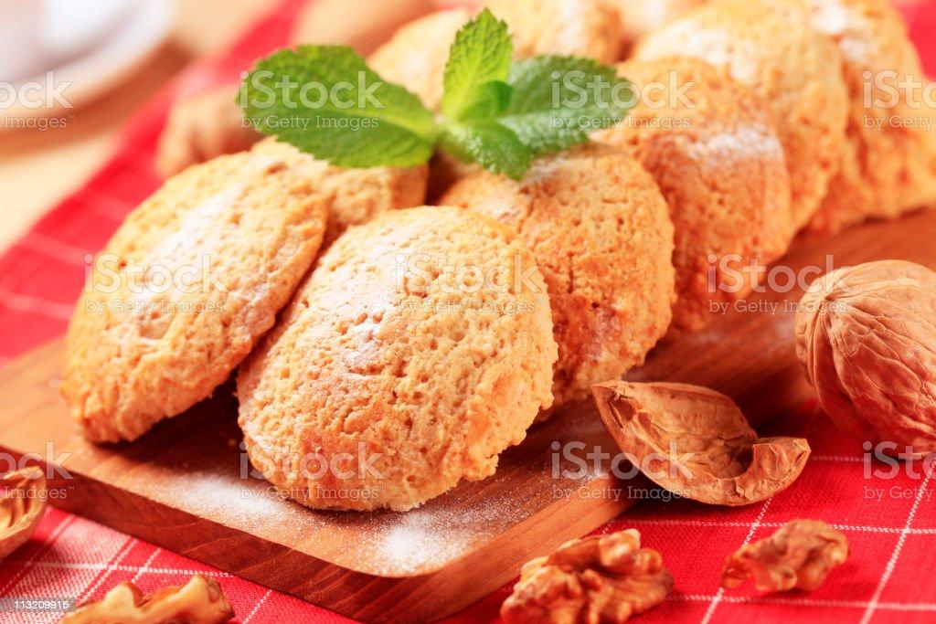 Crispy cookies royalty-free stock photo