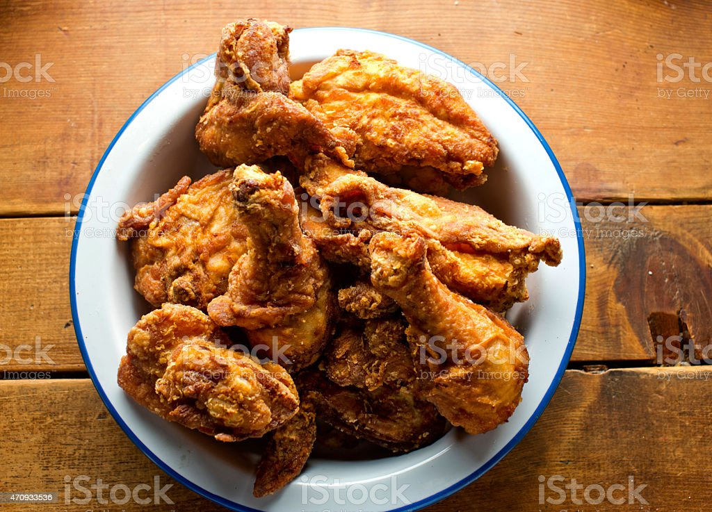 Crispy Fried Chicken stock photo