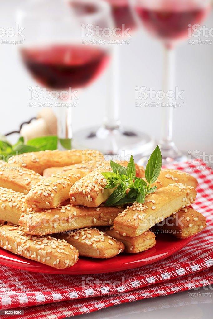 Хрустящие закуски Стоковые фото Стоковая фотография