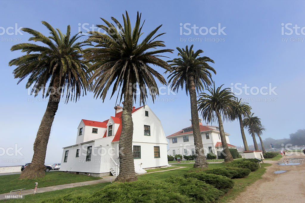 Crissy Field in San Francisco, California stock photo