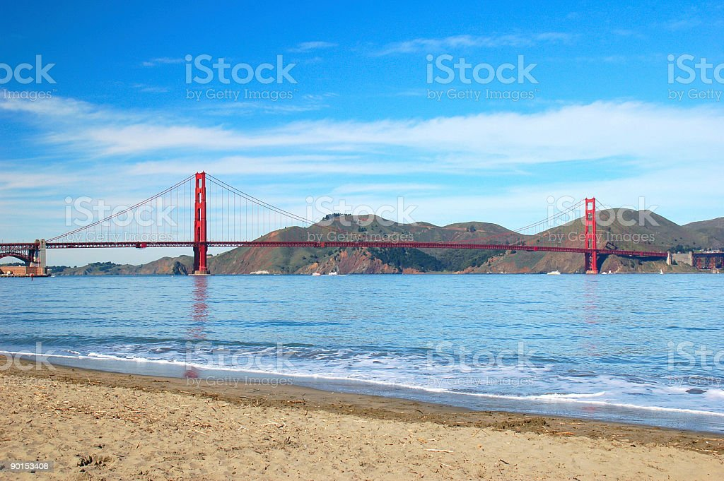 Crissy Field royalty-free stock photo