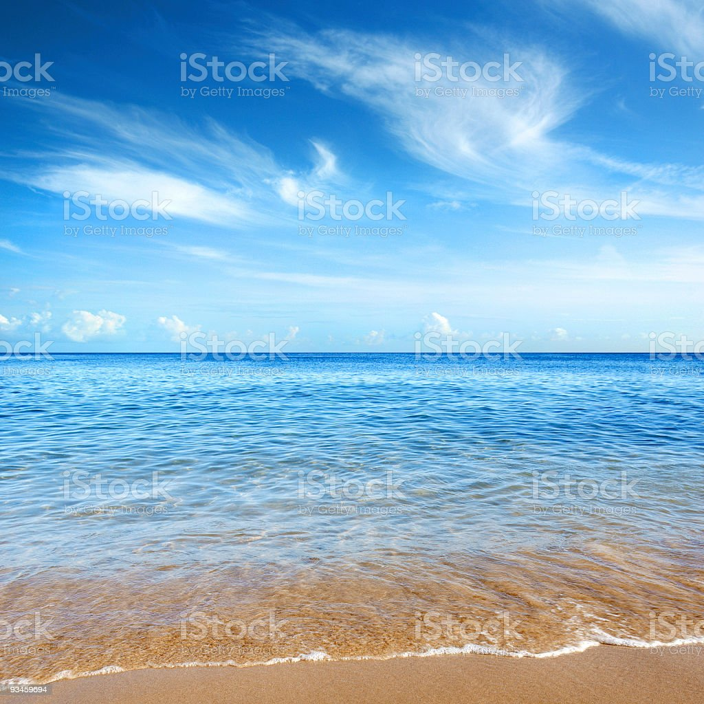 Cristal Clear royalty-free stock photo