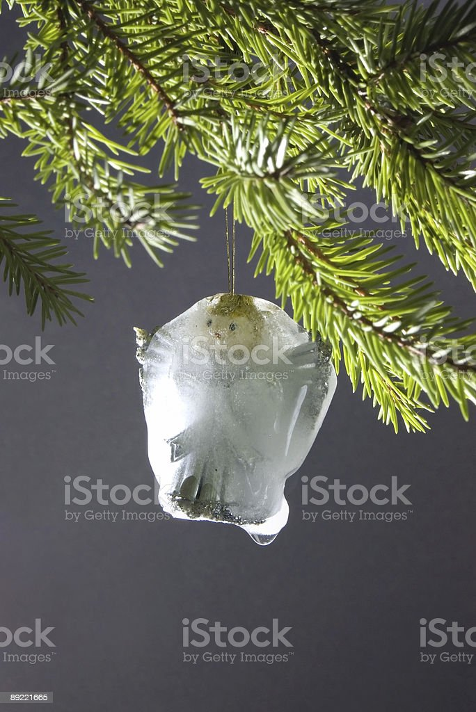 cristmas angel royalty-free stock photo