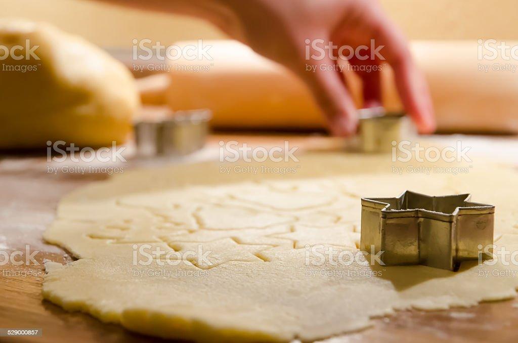 Cristmas cookies stock photo