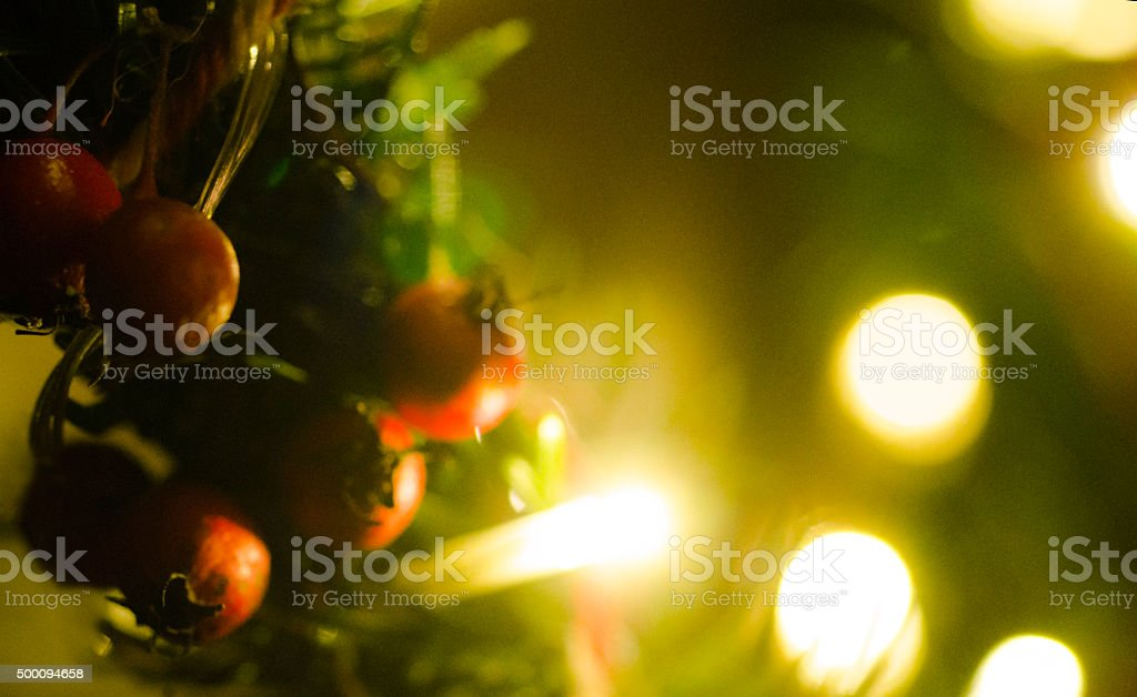Cristmas decoration, close up stock photo