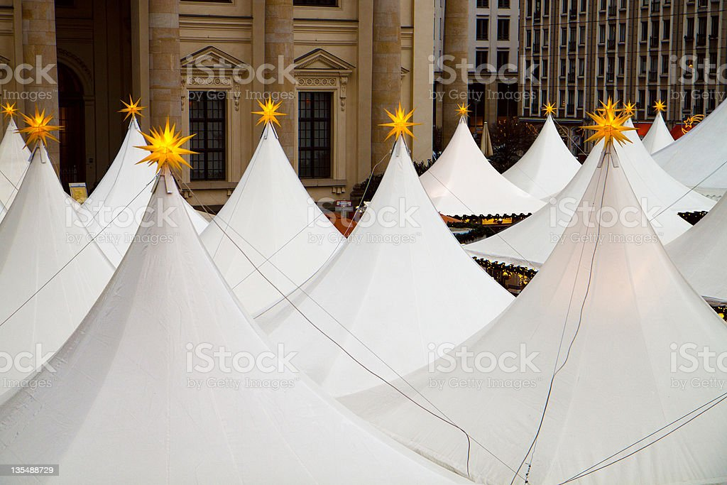 Cristmas marquees royalty-free stock photo