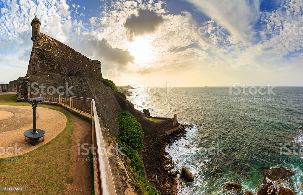 Cristobal panorama stock photo