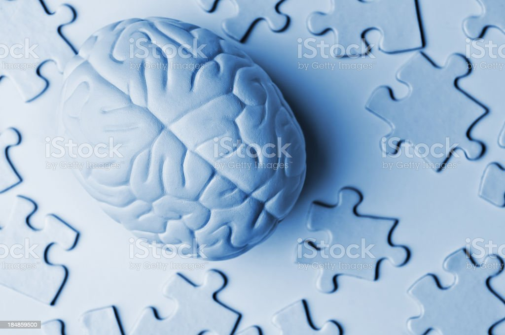Critical Thinking royalty-free stock photo