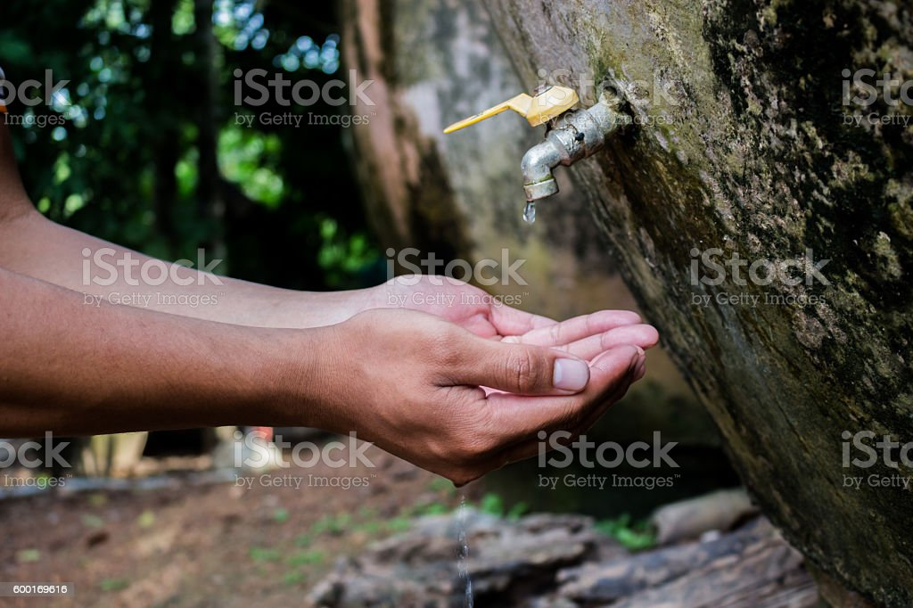 Critical water shortages. stock photo