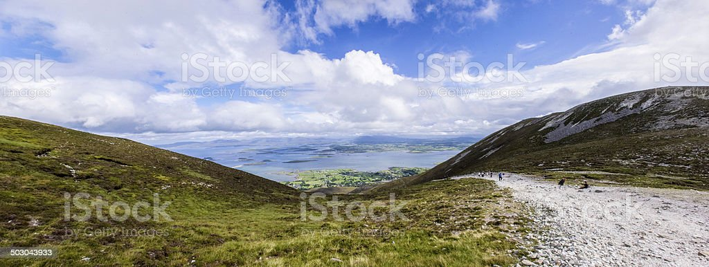 Croagh Patrick stock photo