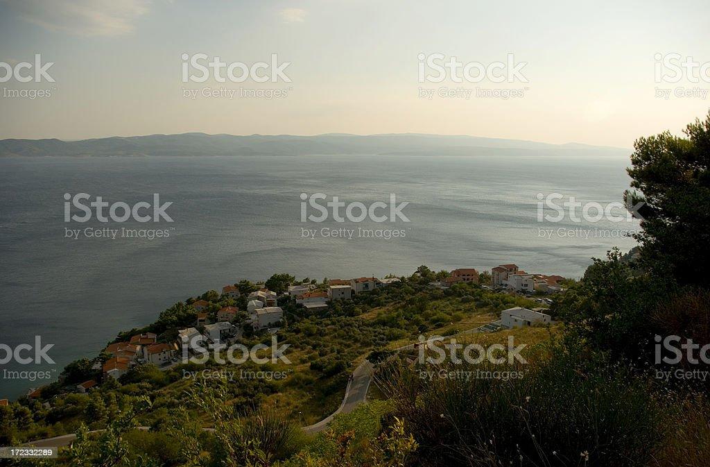 Croatia coast royalty-free stock photo