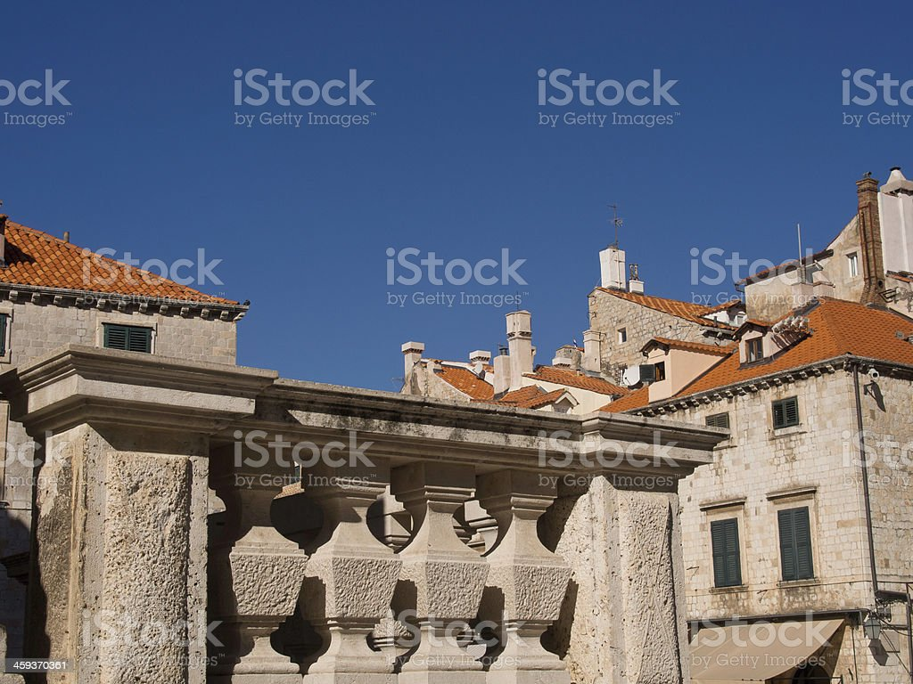 kroatien stock photo