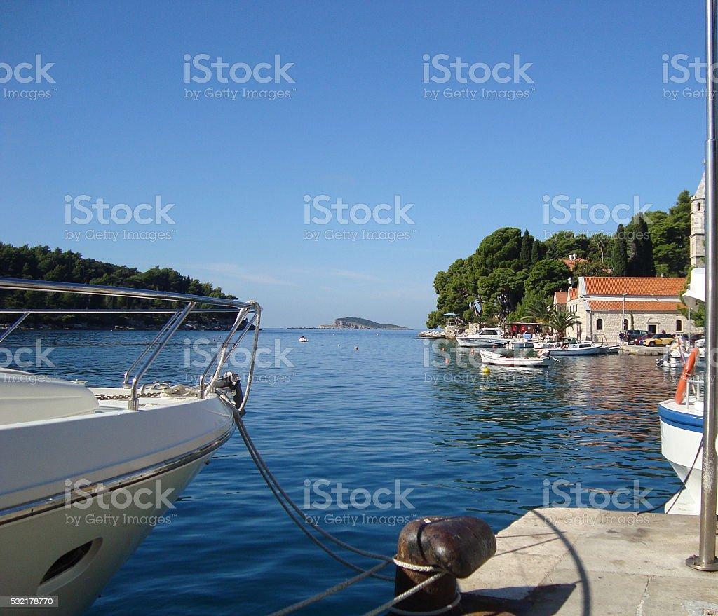 Croatia stock photo